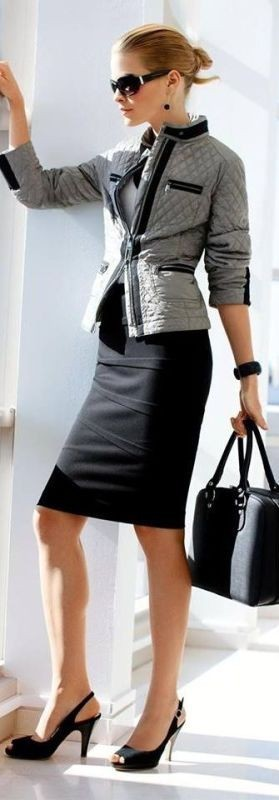 fall-and-winter-office-outfits-3-2 83+ Fall & Winter Office Outfit Ideas for Business Ladies 2020
