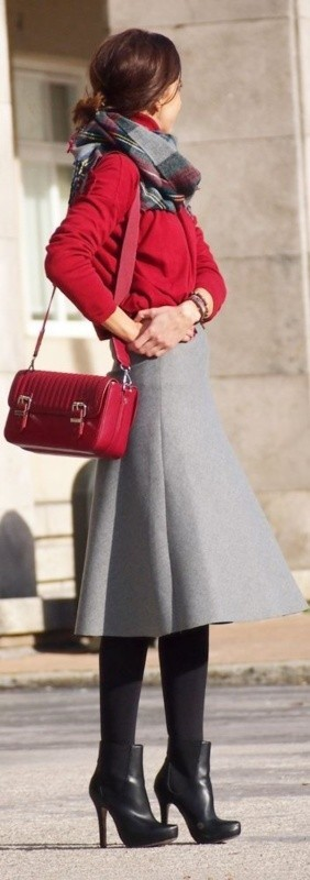 fall-and-winter-office-outfits-4-2 83+ Fall & Winter Office Outfit Ideas for Business Ladies 2018