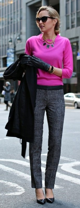 fall-and-winter-office-outfits-6-2 83+ Fall & Winter Office Outfit Ideas for Business Ladies 2020