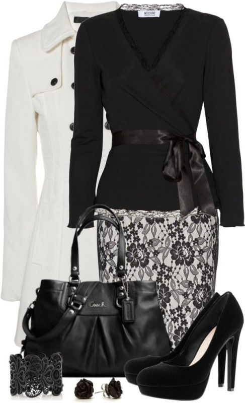 fall-and-winter-work-outfit-ideas-2018-10 85+ Fashionable Work Outfit Ideas for Fall & Winter 2020