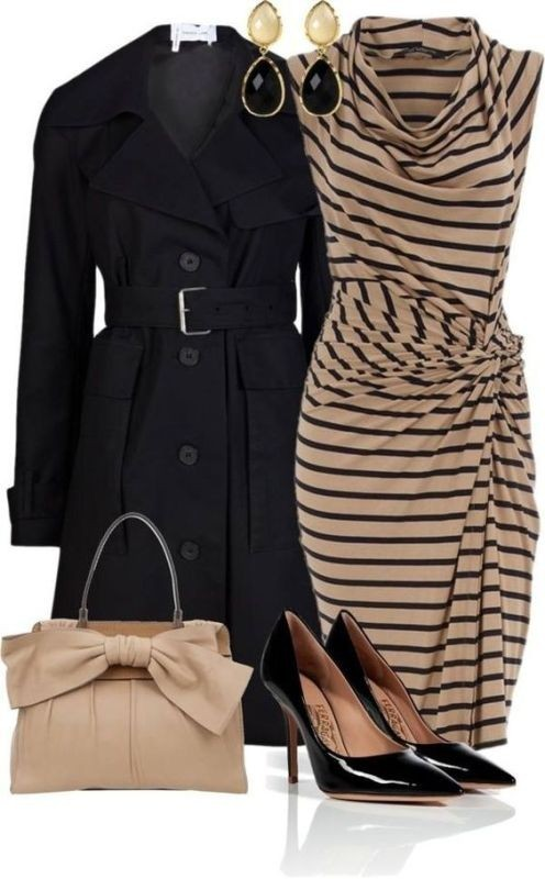 fall-and-winter-work-outfit-ideas-2018-12 85+ Elegant Work Outfit Ideas for Fall & Winter 2021