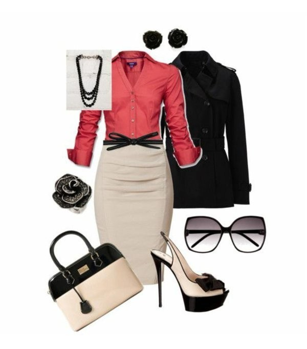fall-and-winter-work-outfit-ideas-2018-120 85+ Elegant Work Outfit Ideas for Fall & Winter 2021
