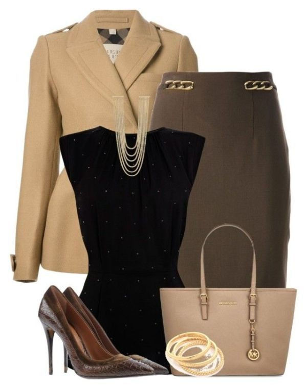 fall-and-winter-work-outfit-ideas-2018-139 85+ Fashionable Work Outfit Ideas for Fall & Winter 2020