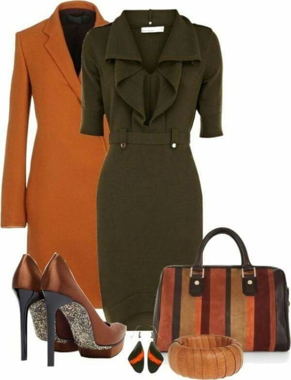 fall-and-winter-work-outfit-ideas-2018-145 85+ Elegant Work Outfit Ideas for Fall & Winter 2021