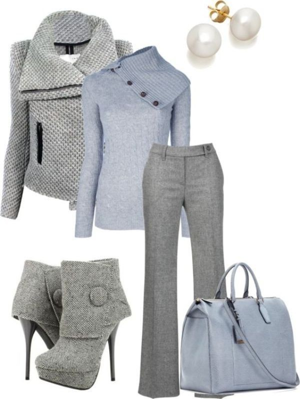 fall-and-winter-work-outfit-ideas-2018-149 85+ Elegant Work Outfit Ideas for Fall & Winter 2021