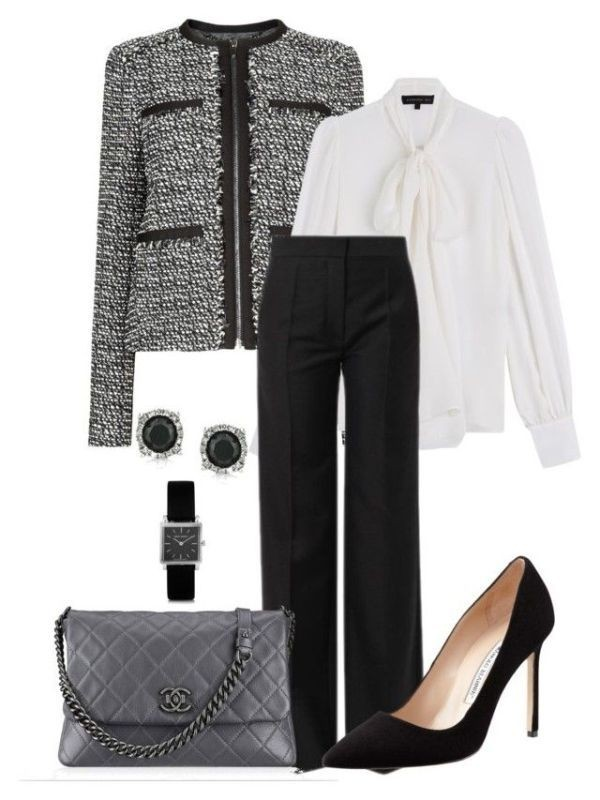 fall-and-winter-work-outfit-ideas-2018-150 85+ Elegant Work Outfit Ideas for Fall & Winter 2021