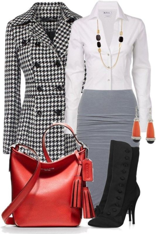 fall-and-winter-work-outfit-ideas-2018-17 85+ Elegant Work Outfit Ideas for Fall & Winter 2021