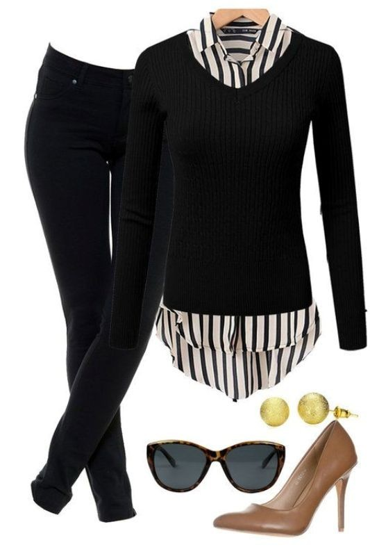 fall-and-winter-work-outfit-ideas-2018-18 85+ Elegant Work Outfit Ideas for Fall & Winter 2021