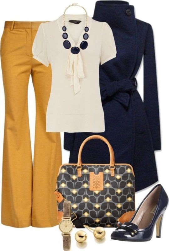 fall-and-winter-work-outfit-ideas-2018-20 85+ Elegant Work Outfit Ideas for Fall & Winter 2021
