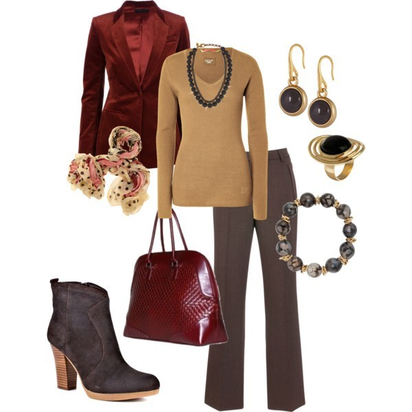 fall-and-winter-work-outfit-ideas-2018-41 85+ Fashionable Work Outfit Ideas for Fall & Winter 2018