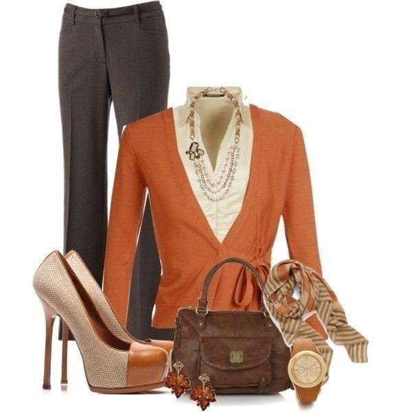 fall-and-winter-work-outfit-ideas-2018-49 85+ Elegant Work Outfit Ideas for Fall & Winter 2021