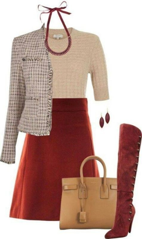fall-and-winter-work-outfit-ideas-2018-5 85+ Elegant Work Outfit Ideas for Fall & Winter 2021