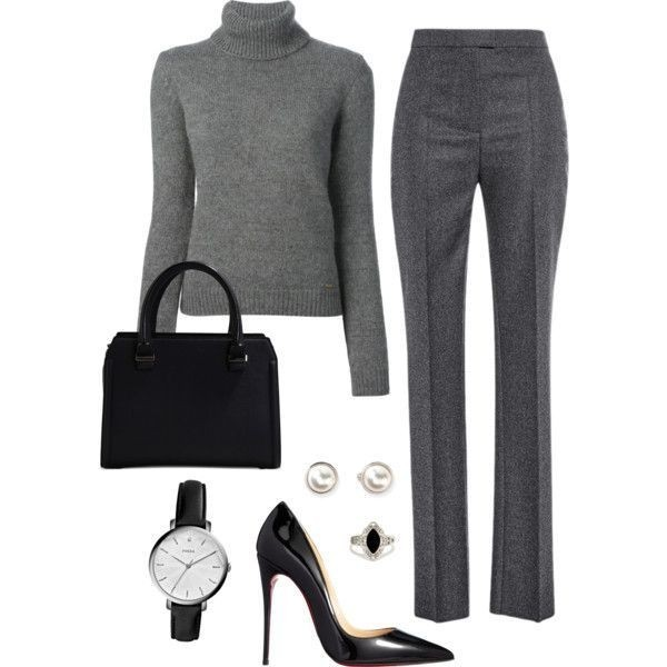 fall-and-winter-work-outfit-ideas-2018-54 85+ Fashionable Work Outfit Ideas for Fall & Winter 2020