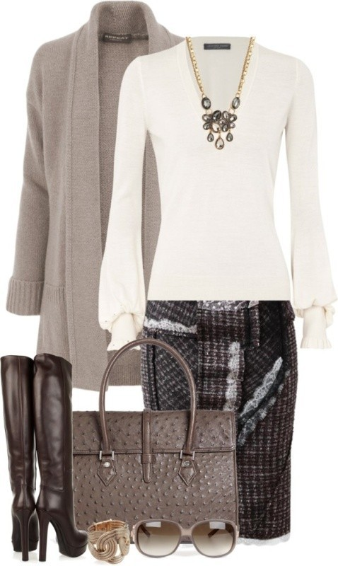 fall-and-winter-work-outfit-ideas-2018-6 85+ Fashionable Work Outfit Ideas for Fall & Winter 2020