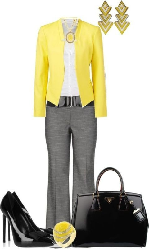 fall-and-winter-work-outfit-ideas-2018-7 85+ Fashionable Work Outfit Ideas for Fall & Winter 2018