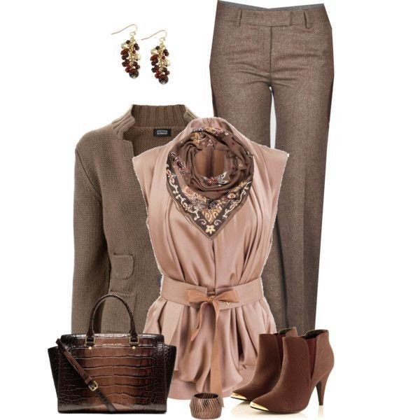 fall-and-winter-work-outfit-ideas-2018-79 85+ Elegant Work Outfit Ideas for Fall & Winter 2021