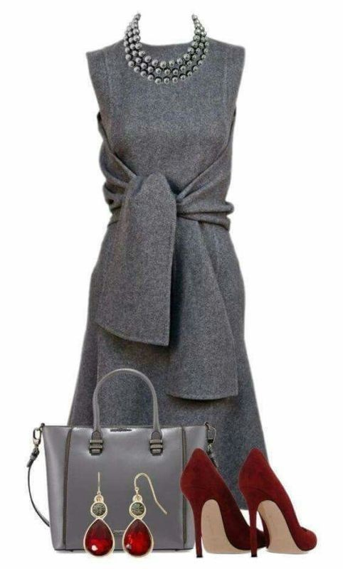 fall-and-winter-work-outfit-ideas-2018-8 85+ Elegant Work Outfit Ideas for Fall & Winter 2021