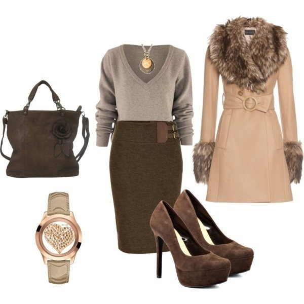 fall-and-winter-work-outfit-ideas-2018-97 85+ Elegant Work Outfit Ideas for Fall & Winter 2021
