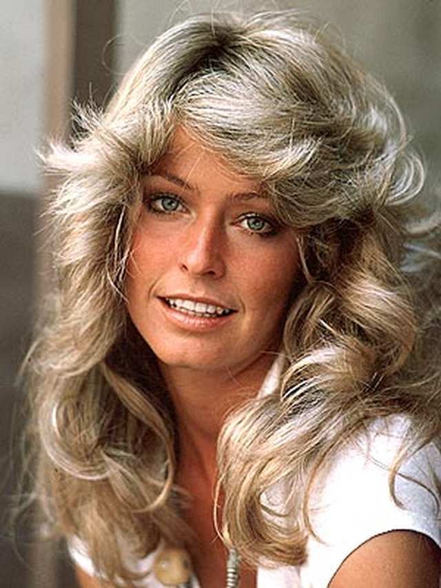 farrah-fawcett 217 Years of Hairstyles Development .. from the 19th Century till Today..