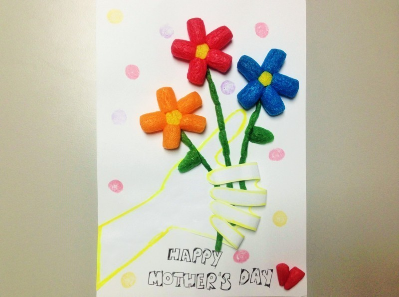 handmade-Mothers-Day-card-100 81+ Easy & Fascinating Handmade Mother's Day Card Ideas