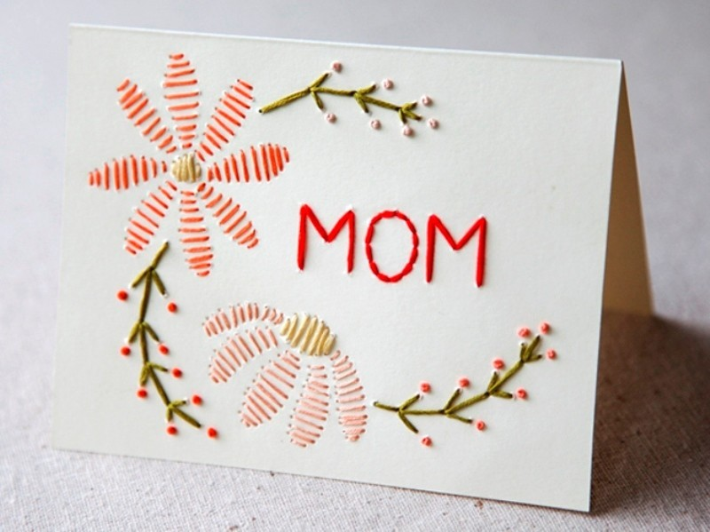 handmade-Mothers-Day-card-101 81+ Easy & Fascinating Handmade Mother's Day Card Ideas