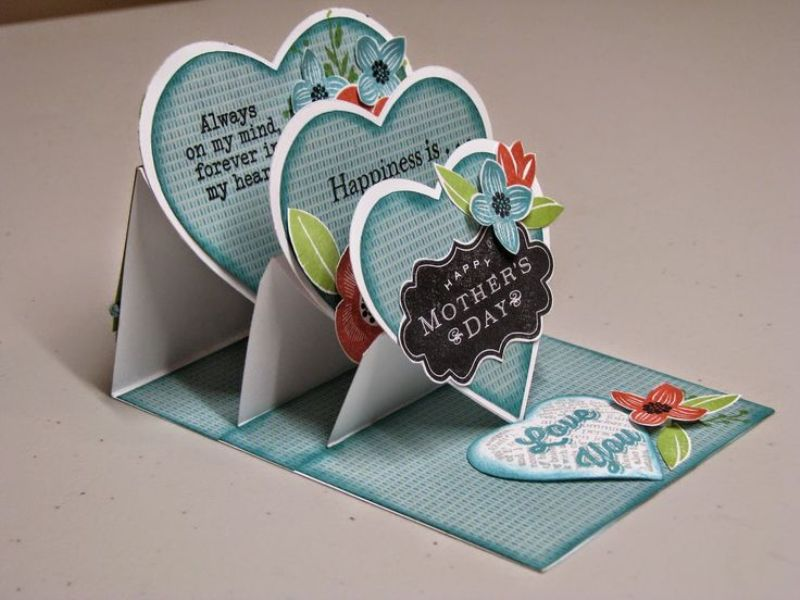 handmade-Mothers-Day-card-102 81+ Easy & Fascinating Handmade Mother's Day Card Ideas