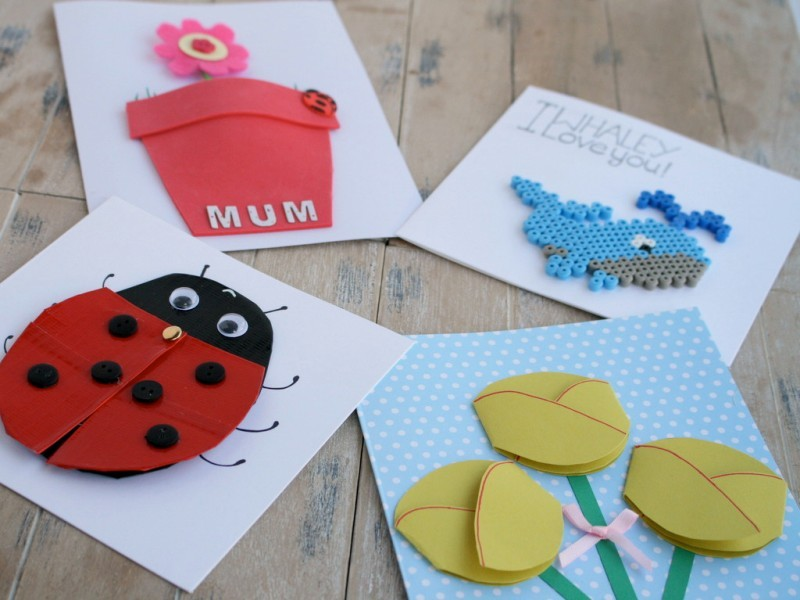 handmade-Mothers-Day-card-103 81+ Easy & Fascinating Handmade Mother's Day Card Ideas