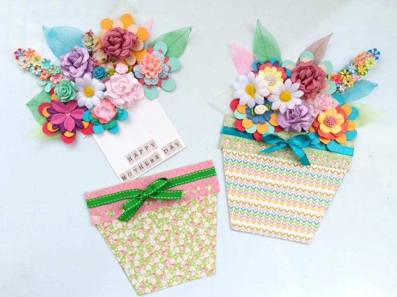 handmade-Mothers-Day-card-104 81+ Easy & Fascinating Handmade Mother's Day Card Ideas