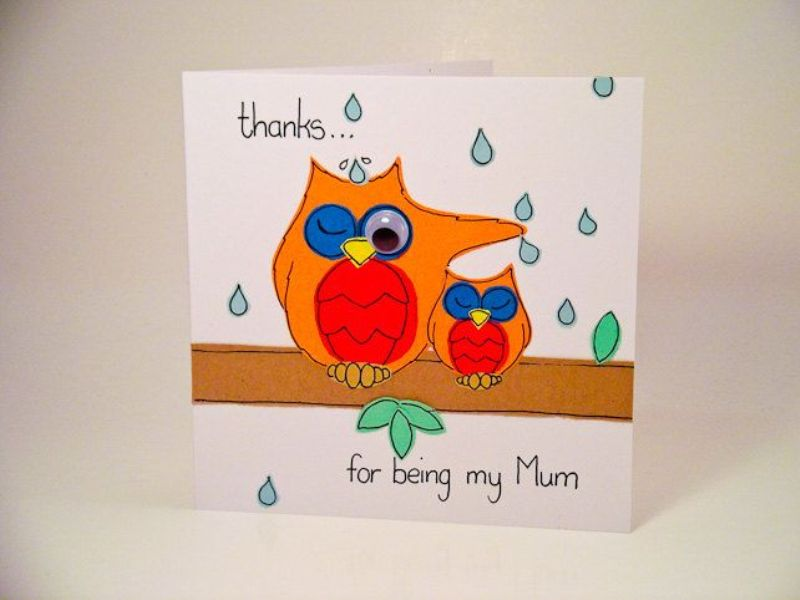 handmade-Mothers-Day-card-105 81+ Easy & Fascinating Handmade Mother's Day Card Ideas