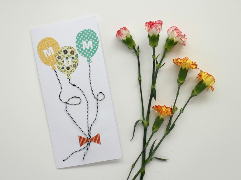 handmade-Mothers-Day-card-107 81+ Easy & Fascinating Handmade Mother's Day Card Ideas