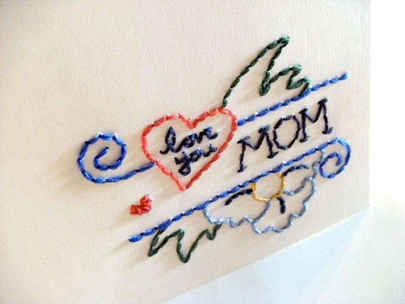 handmade-Mothers-Day-card-108 81+ Easy & Fascinating Handmade Mother's Day Card Ideas