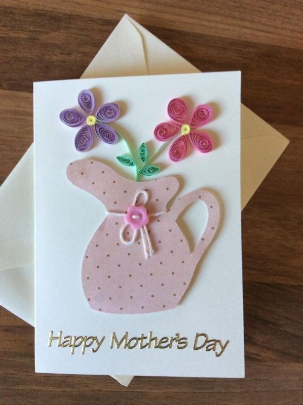 handmade-Mothers-Day-card-11 81+ Easy & Fascinating Handmade Mother's Day Card Ideas
