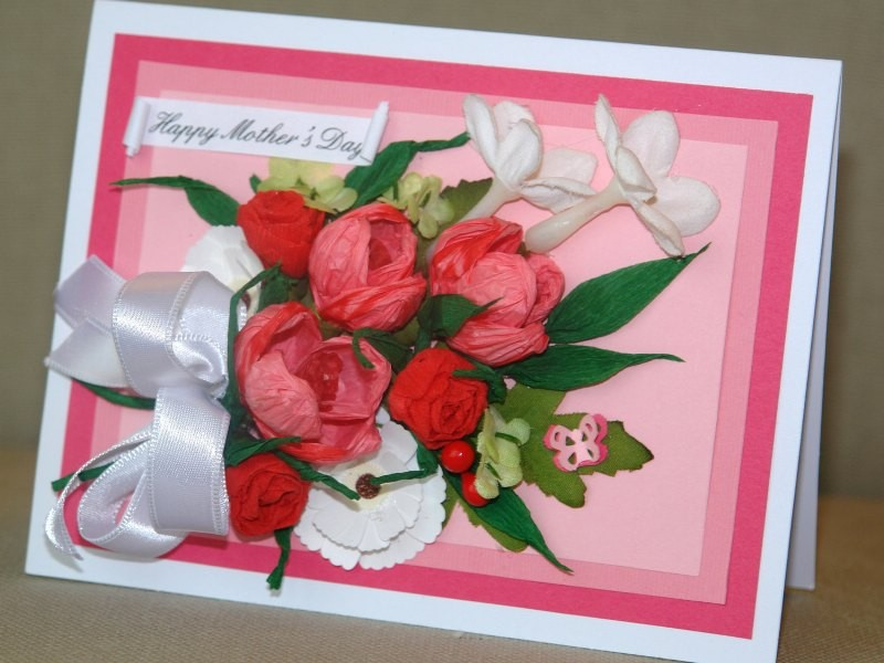 handmade-Mothers-Day-card-110 81+ Easy & Fascinating Handmade Mother's Day Card Ideas