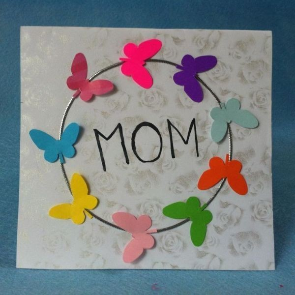 handmade-Mothers-Day-card-17 81+ Easy & Fascinating Handmade Mother's Day Card Ideas