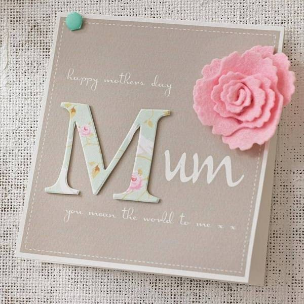 handmade-Mothers-Day-card-19 81+ Easy & Fascinating Handmade Mother's Day Card Ideas