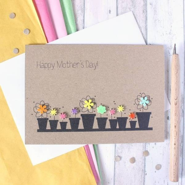 handmade-Mothers-Day-card-28 81+ Easy & Fascinating Handmade Mother's Day Card Ideas