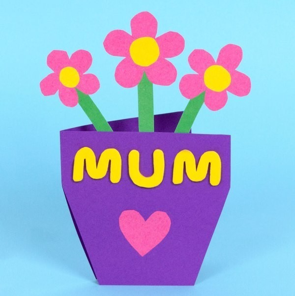 handmade-Mothers-Day-card-34 81+ Easy & Fascinating Handmade Mother's Day Card Ideas