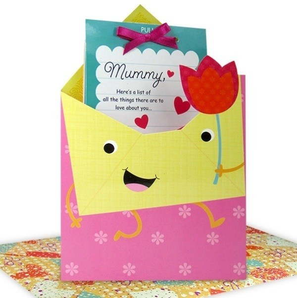 handmade-Mothers-Day-card-35 81+ Easy & Fascinating Handmade Mother's Day Card Ideas