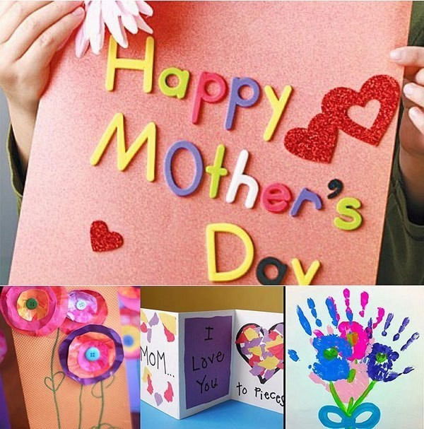 handmade-Mothers-Day-card-36 81+ Easy & Fascinating Handmade Mother's Day Card Ideas