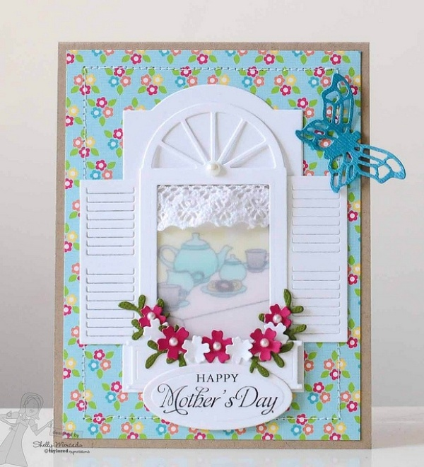 handmade-Mothers-Day-card-39 81+ Easy & Fascinating Handmade Mother's Day Card Ideas