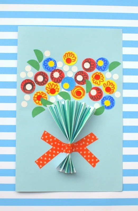 handmade-Mothers-Day-card-4 81+ Easy & Fascinating Handmade Mother's Day Card Ideas