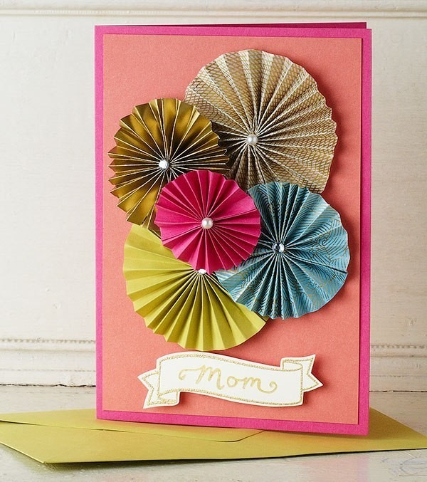 handmade-Mothers-Day-card-40 81+ Easy & Fascinating Handmade Mother's Day Card Ideas