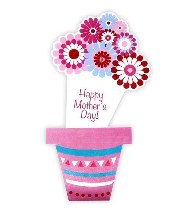 handmade-Mothers-Day-card-41 81+ Easy & Fascinating Handmade Mother's Day Card Ideas