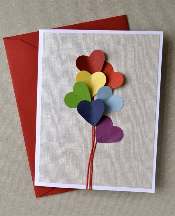 handmade-Mothers-Day-card-43 81+ Easy & Fascinating Handmade Mother's Day Card Ideas