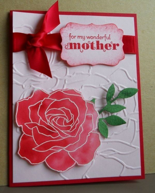 handmade-Mothers-Day-card-45 81+ Easy & Fascinating Handmade Mother's Day Card Ideas
