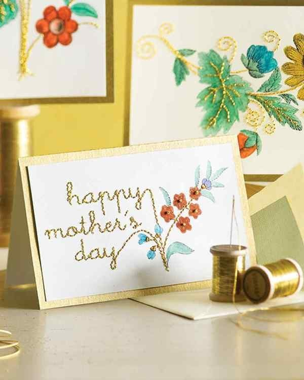 handmade-Mothers-Day-card-47 81+ Easy & Fascinating Handmade Mother's Day Card Ideas