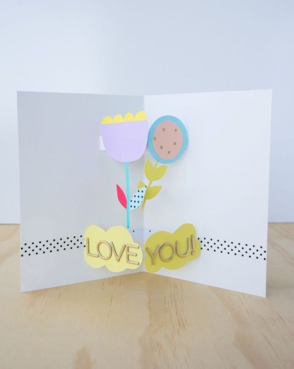 handmade-Mothers-Day-card-48 81+ Easy & Fascinating Handmade Mother's Day Card Ideas