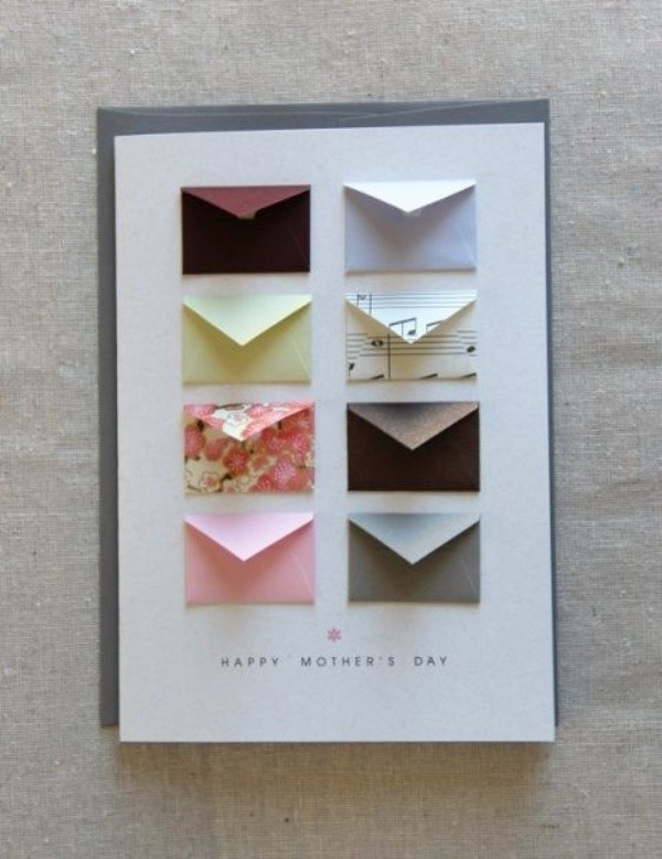 handmade-Mothers-Day-card-49 81+ Easy & Fascinating Handmade Mother's Day Card Ideas