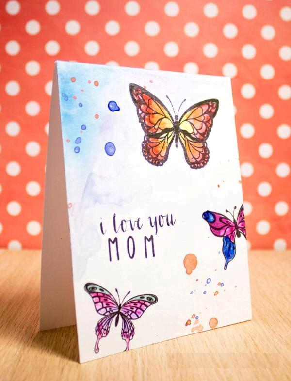 handmade-Mothers-Day-card-51 81+ Easy & Fascinating Handmade Mother's Day Card Ideas