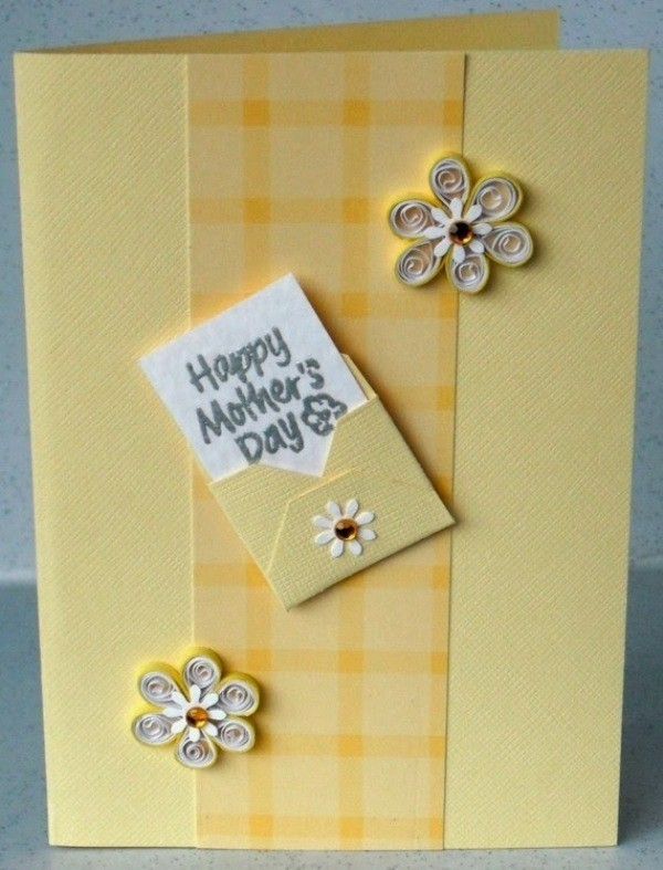 handmade-Mothers-Day-card-53 81+ Easy & Fascinating Handmade Mother's Day Card Ideas
